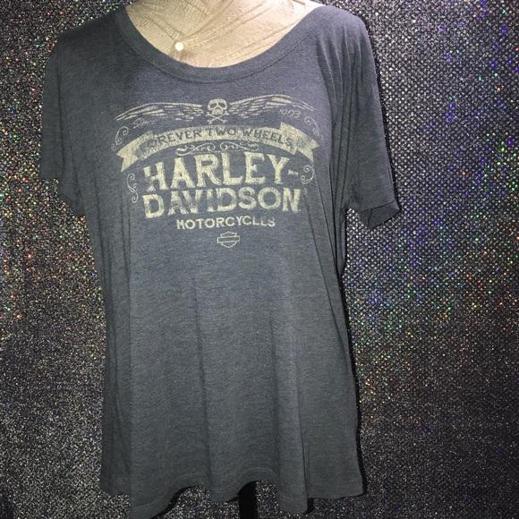 Harley-Davidson Tops - Harley Davidson Womens Plus Size Stretch T-shirt 4b7216ee3